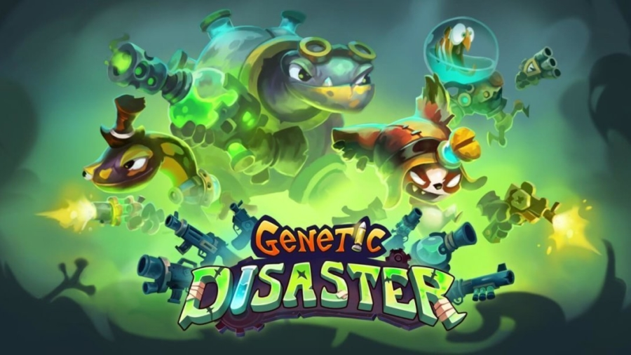 Capa do jogo Genetic Disaster