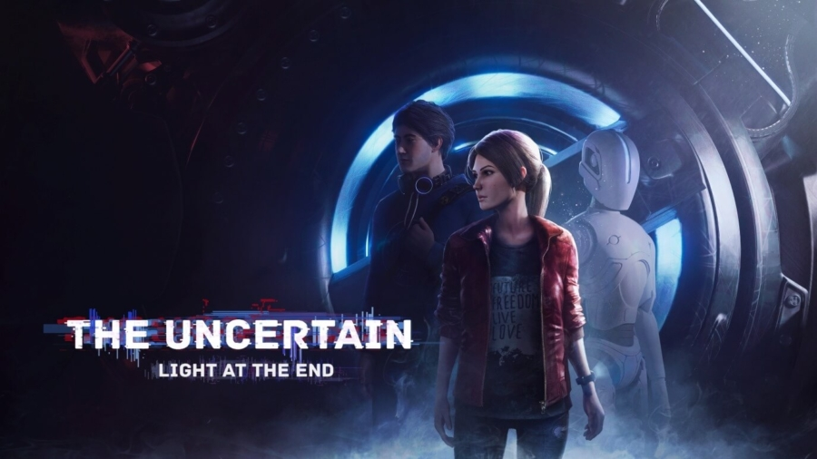 Capa do jogo The Uncertain: Light At The End