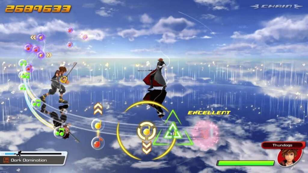 Sora no Boss Battle
