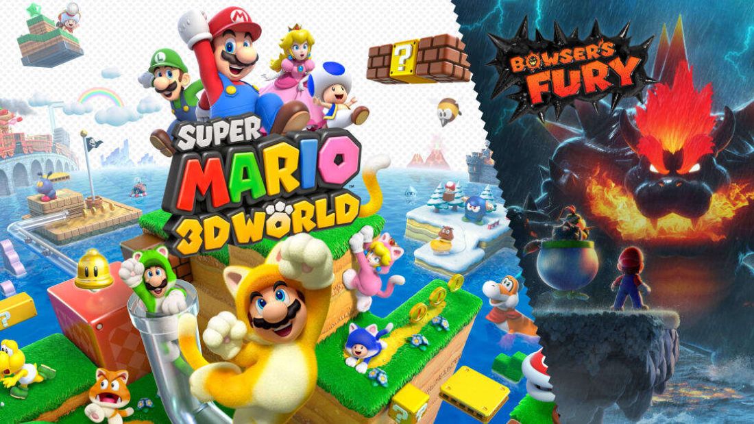 Super Mario 3D World + Bowser's Fury Capa