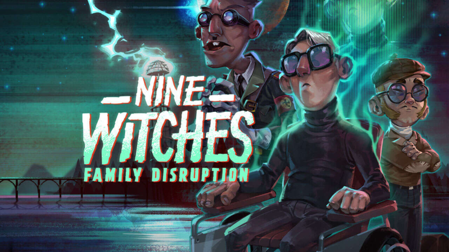 Nine Witches Capa
