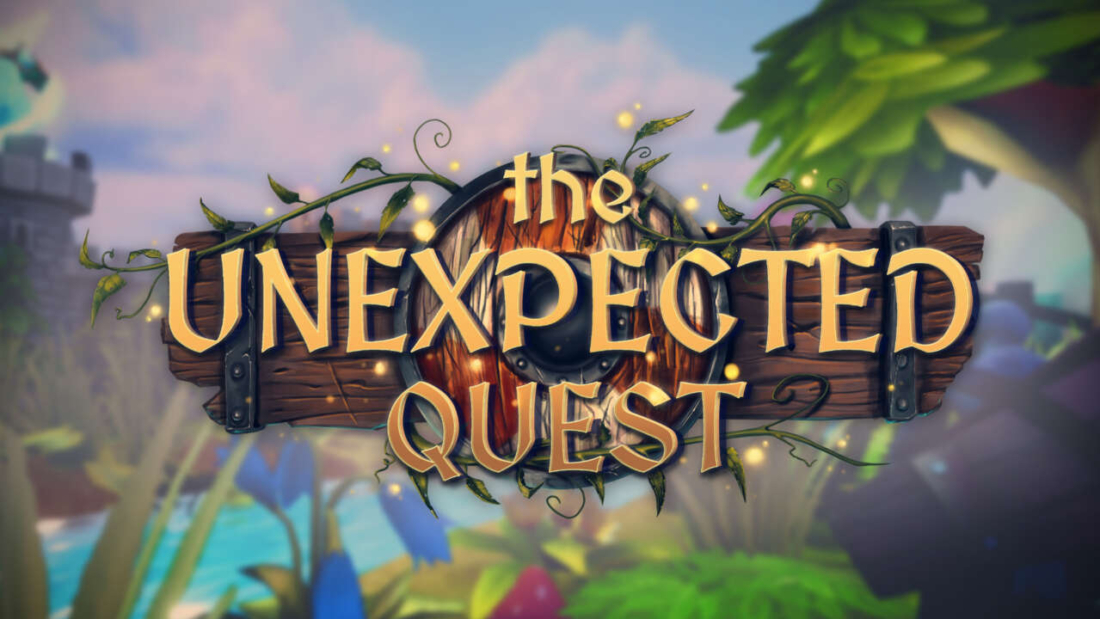 The Unexpected Quest Capa