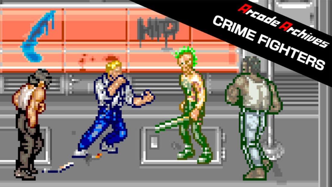 Arcade Archives: Crime Fighters Capa