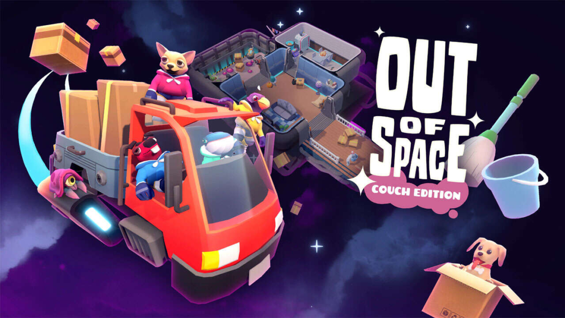 Out of Space: Couch Edition Capa