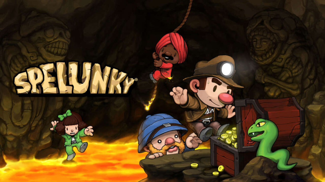 Review Spelunky Capa